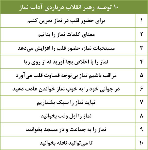 10توصیه رهبر